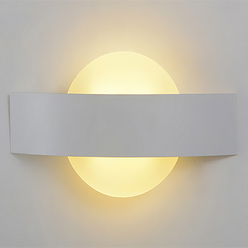 ФОТО sunrise 8W Indirect Wall Lamp LED Wall Sconce Surface Modern Wall Light Decorative Indoor Lighting AC100~240V Input night light