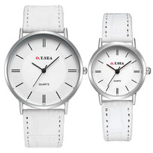 New Arrival Casual 2PC Luxury Watch Men's Lady Strap Couple Quartz Wrist Watches Lovers hot relojes Montre Femme horloges mannen