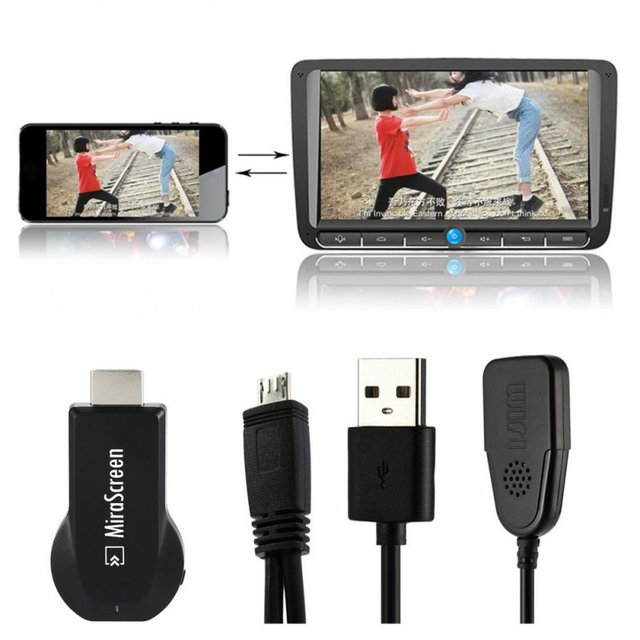 H828 MiraScreen OTA TV Stick Dongle Better Than EasyCast Wi-Fi Display Receiver DLNA Airplay Miracast Airmirroring Chromecast