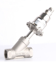 1 дюймов одностороннего действия нержавеющей стали пневматический угол седло клапана 63 мм привод
