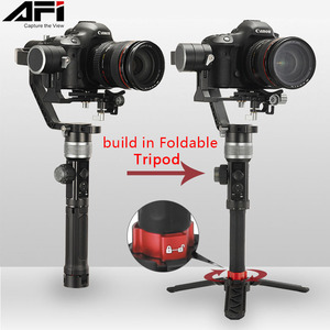 Image 4 - AFI D3 Gimbal Stabilizer For Camera Gimbal Dslr Handheld 3 Axis Stabilizer Video Mobile With Servo Follow Focus For All Models