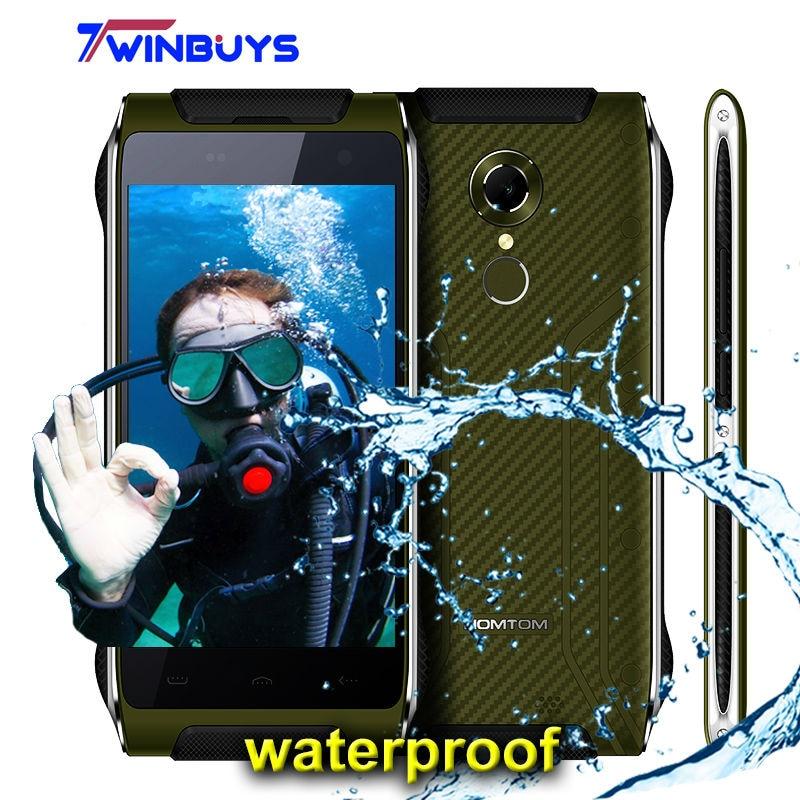bilder für Homtom HT20 wasserdicht stoßfest handy fingerabdruck 3500 mah 4,7 Zoll IP68 Mtk6737 Quad Core Android 6.0 2 GB + 16 GB 13MP Smartphone