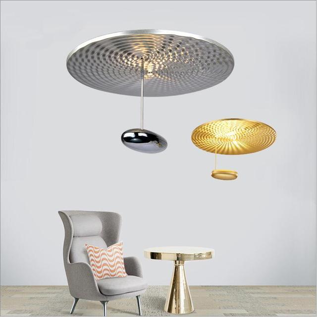 Moderno Novedad Art Deco Gota Mini Parled LED de Oro/Plata Luces de ...
