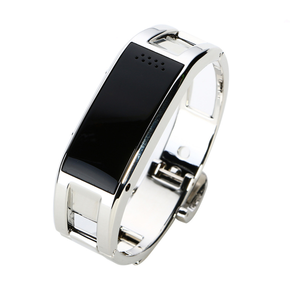 D8 Bluetooth font b Smart b font font b Watch b font Metal WristWatch Fitness Bracelet