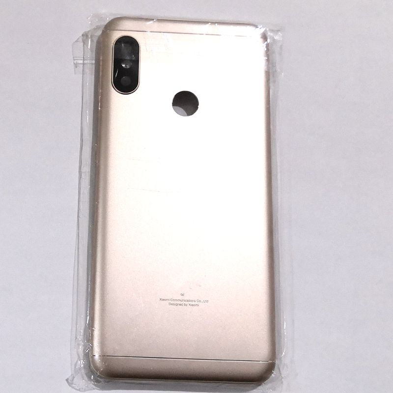 For <font><b>Xiaomi</b></font> <font><b>Mi</b></font> <font><b>A2</b></font> Lite / redmi 6 pro <font><b>Battery</b></font> <font><b>cover</b></font> back rear door housing For A2lite back frame glass with camera lens image