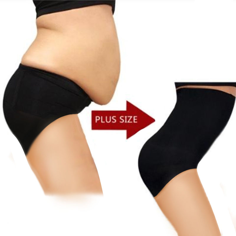 New Women High Waist Tummy Tuck Waist Shaping Panties Breathable Body Shaper Slimming Tummy Underwear Dropshipping