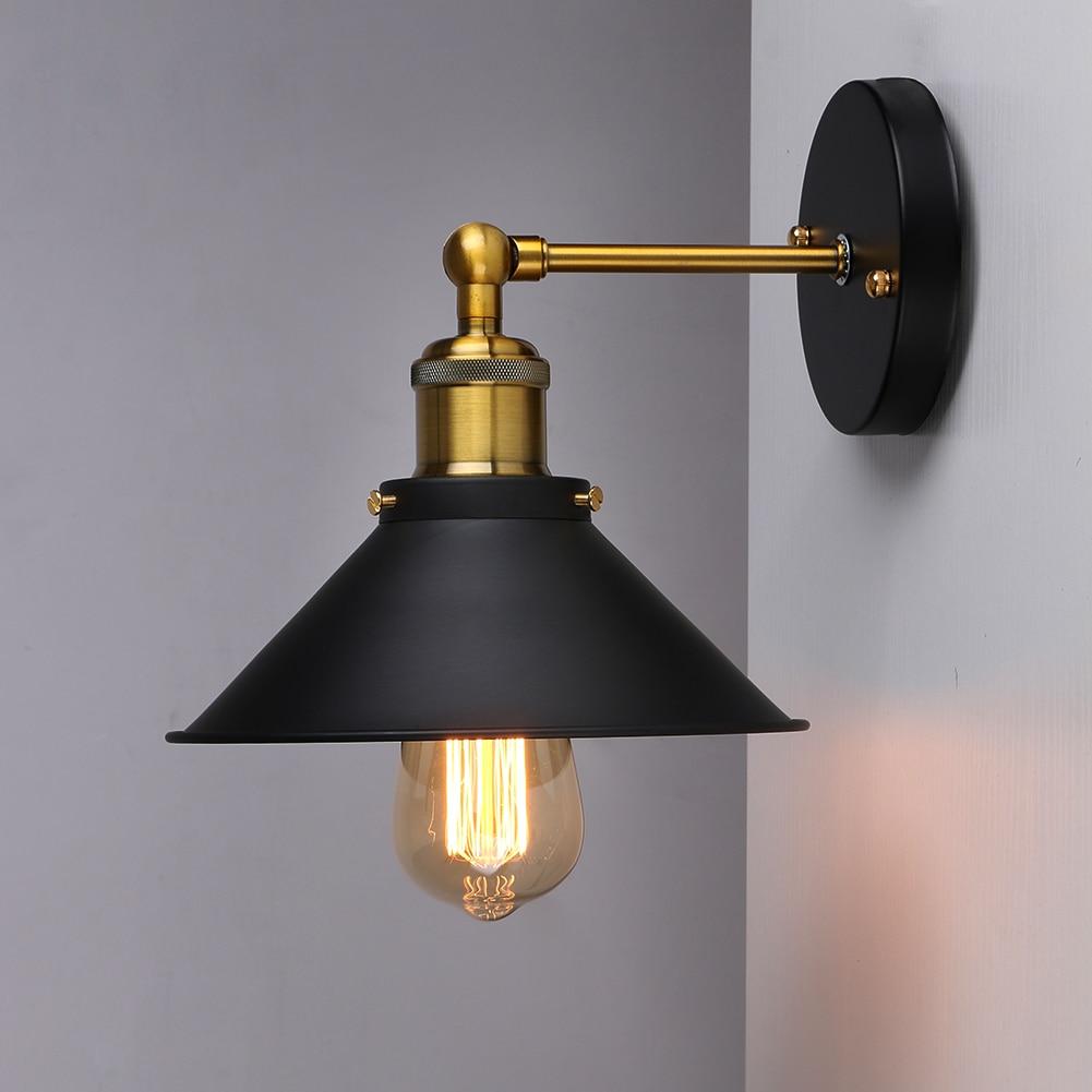 Американский Винтаж Лофт Эдисон бра Освещение в помещении прикроватные лампы бра для дома Диаметр 22 см 110 В/220 В E26/E27
