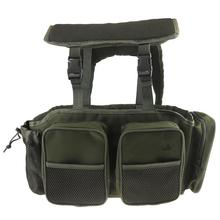 Large Capacity Multifunction Fishing Box Bag Nylon Fabric Backpack Gear Storage Bags