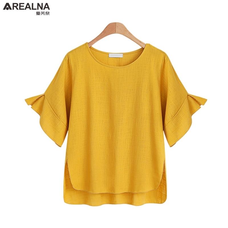 2018 Kimono Summer Women Chiffon Tops Blouses Ladies Plus Size Ruffle Top Shirt Elegant White Yellow Black Shirts Blusas Mujer