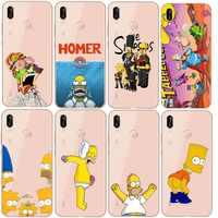 Los Simpson suave de TPU caso para Huawei P8L P20L P20LITE P30 Mate 8 10 amigo 20Por RS