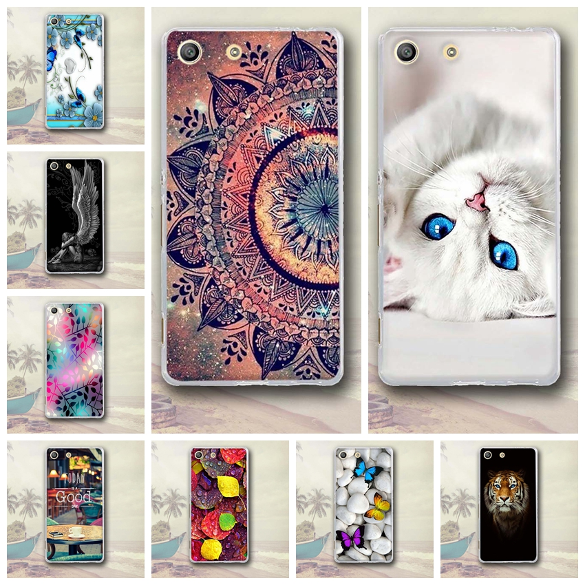 For Sony Xperia M5 Cover Case Fashion Painted Pattern Capa For Sony Xperia M5 E5603 E5606 E5653 Back Cover Phone Protective Case