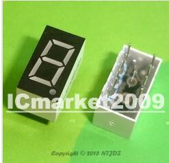 100 PCS LD-3161AG 1 Digit 0.36 GREEN 7 SEGMENT LED DISPLAY COMMON CATHODE 100 pcs ld 3361ag 3 digit 0 36 green 7 segment led display common cathode