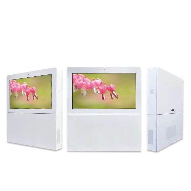 Affichage numérique de joueur d'écran d'affichage à cristaux liquides de publicité extérieure de totem de 65 pouces - 4