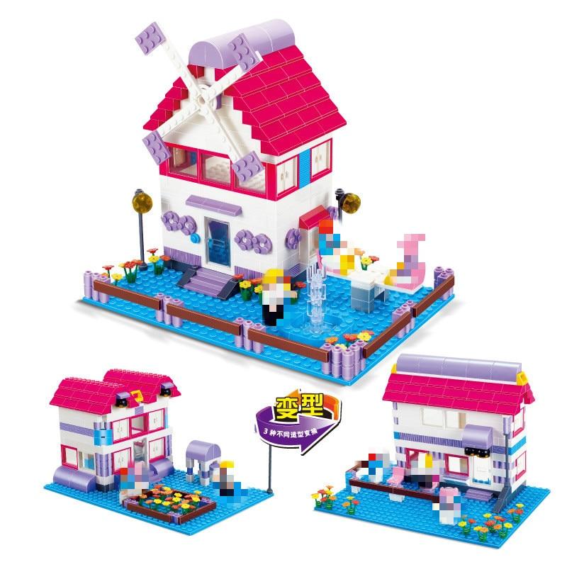 DIY Models Building Toy Friends Heartlake Stables Girls Mia's Farm 365pcs Building Blocks Compatible with Lepins Toys & Hobbies смесь семян для хомяков friends farm 700г