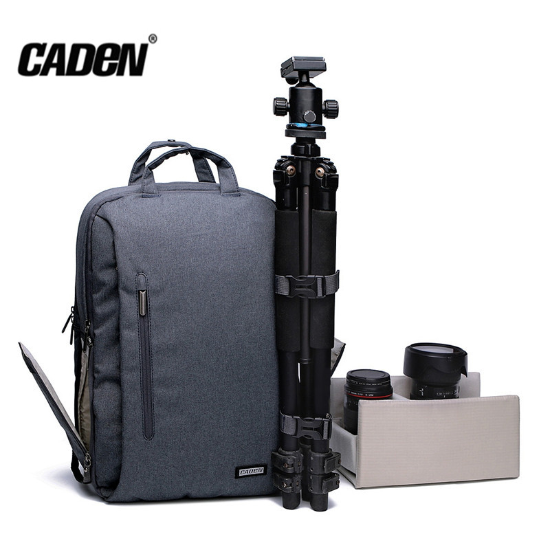 New CADEN L5 Multifunction Shockproof Waterproof Camera Bag Thickened Shoulder Belt Ventilate Mesh Backpack For Laptop Smartphon new pattern caden l5 camera backpack bag stylish nylon multifunction shockproof video photo bags fit for canon 50d 60d 100d 550d