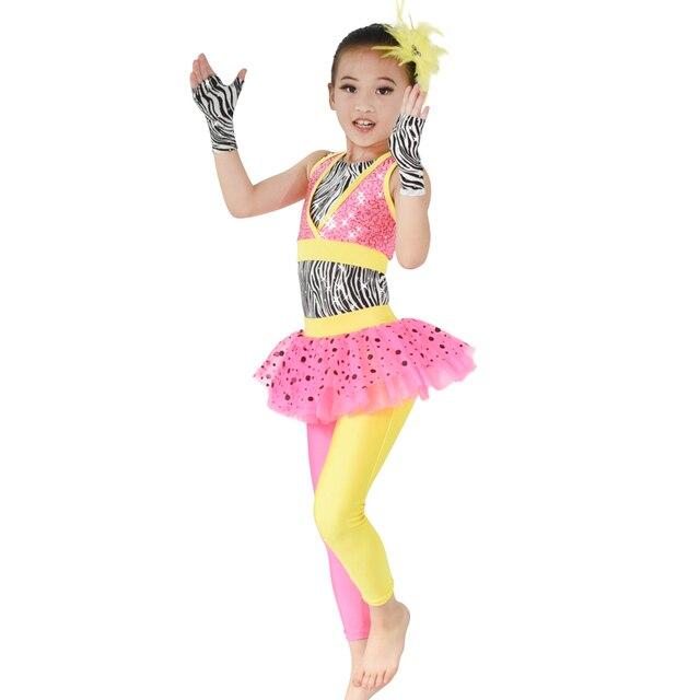 2d79e2e8e MiDee Polka Dots Tutus Skirt Leotard Pants Sequins Vest With Zebra ...