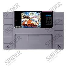 Save File Sengoku Denshou 16 bit Super Game Card For NTSC USA Game Player