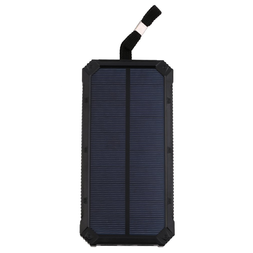 Wopow solar power bank 30000 mah Portable Charger Outdoors Emergency External Battery for Mobile Phone Tablets
