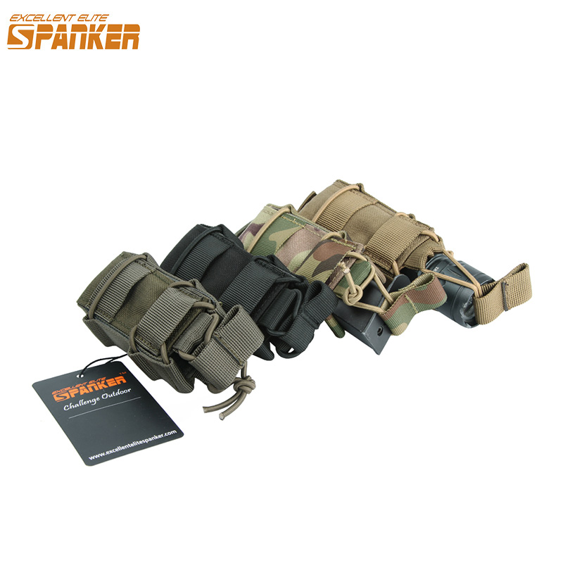EXCELLENT ELITE SPANKER Military Pistol Hoslters Tactical Ammo Clip Magazine Pouches Outdoor Equipment Hunting Bags