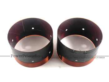 2PCS 102MM Bass Voice Coil Woofer With Sound Air Outlet Hole For 12 inch -18 inch Subwoofer Speaker 8OHM 2 Layers - SALE ITEM Consumer Electronics