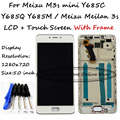 For Meizu M3s mini Y685C Y685Q Y685M Y685H / Meizu Meilan 3s LCD Display + Touch Screen Digitizer Assembly With Frame + Tools