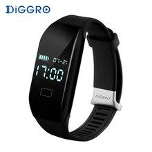 Diggro H3 смарт-браслет сердечного ритма Мониторы браслет Bluetooth Шагомер Спорт Фитнес трекер умный группа для Android IOS Телефон