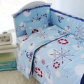 Baby Crib Bedding Set 100% cotton, Baby Boy Girl Crib Bedding Sets, High Quality Baby Cot Bedding, Bumper, Quilt, Sheet, Pillow