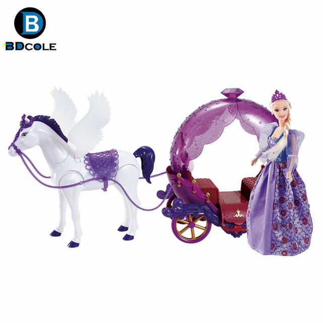 Buy new arrival bdcole battery powered - Carrosse barbie ...