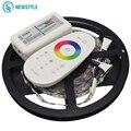 2017 Mais Novo Kit para SMD5050 RGBW Tira CONDUZIDA DC12V 60 leds/m Led de Luz com 2.4g Remoto Levou controlador À Prova D' Água e Não À Prova D' Água