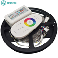 2017 Newest LED Strip Kit for SMD5050 RGBW DC12V 60leds/m Led Light with 2.4g Led Remote Controller Waterproof Non Waterproof