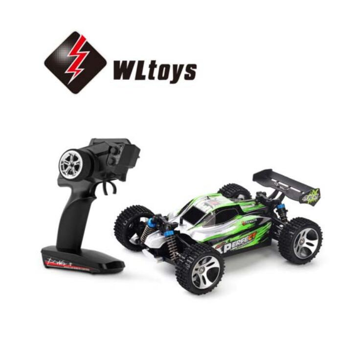WLtoys A959-A 2.4G 1/18 Scale 4WD Electric RTR Off-road Buggy RC Car wltoys a959 rc car off road car 1 18 scale 2 4g 4wd rtr off road buggy high speed racing car remote control truck electric rtr