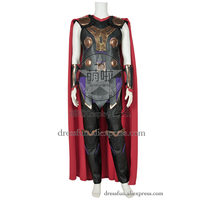 The Avengers Age Of Ultron Cosplay Thor Odinson Costume New Uniform Outfits Suit Halloween Fashion Party Fast Shipping