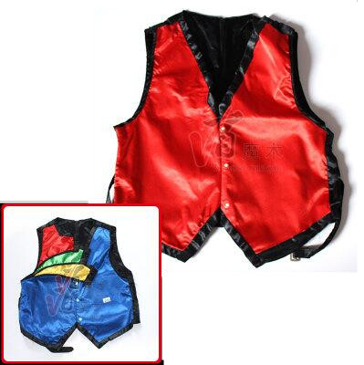 Color Changing Vest By Lee Alex Four Color - Magic Tricks,Mentalism,Stage Magic Props,Comedy,Magia Toys Classic Magie