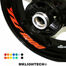 k-sharp 8 X CUSTOM INNER RIM DECALS WHEEL Reflective STICKERS STRIPES FIT YAMAHA YZF 1000
