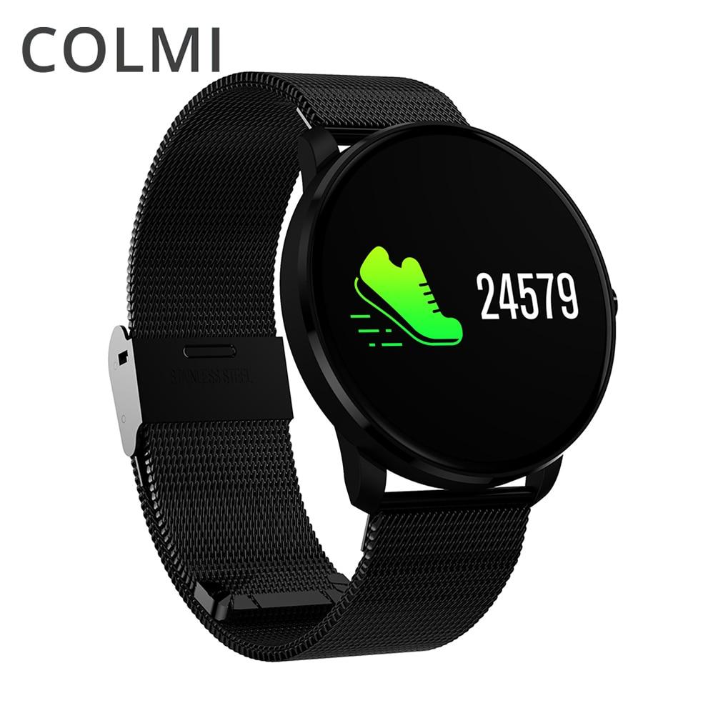 COLMI CF007H IPS coloré LED écran IP68 Fitness Bracelet intelligent Pression Artérielle De Fréquence Cardiaque Smartband BORD Montre Bracelet