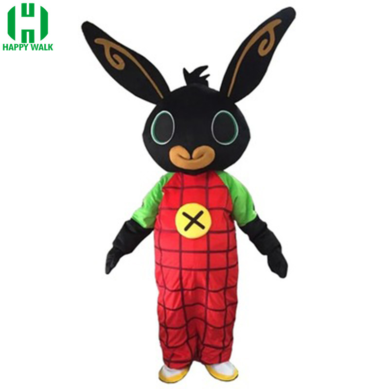Tir lapin BING mascotte costume lapin dessin animé Costume robe Halloween Cosplay mascotte costume pour noël pourim fantaisie robe
