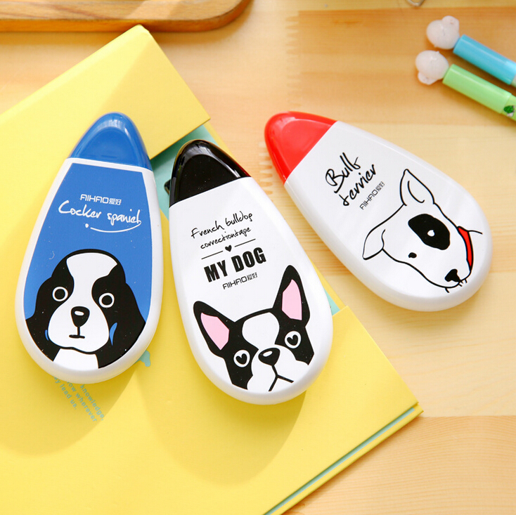 Cute My Little Puppy Correction Tape Kawaii White Out Corrector Promotional Gift Stationery Student Prize School Office Supply