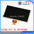 "Original 7"" inch LCD display for Digma hit 3G ht7070mg Tablet TFT 40pin LCD Screen Matrix Digital Replacement Free Shipping"