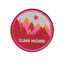 Custom Embroidery Patch OUTDOOR ADVENTUR Iron On Sports Hiking Scouts Girl Boy Cub Camping Welcome to custom your patch