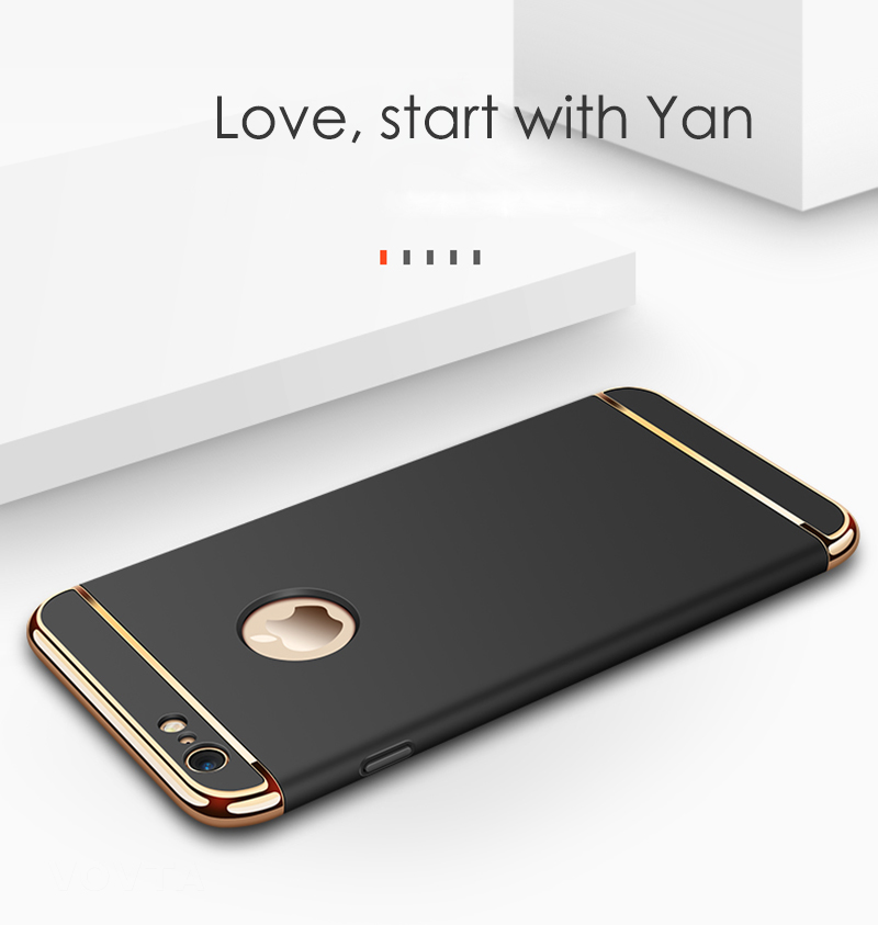VOVTA Luxury Anti-Knock Cases For iPhone 6 8 7 Plus Case Plating Shockproof Full Cover For iphone 7 6s 8 Plus Phone Case4