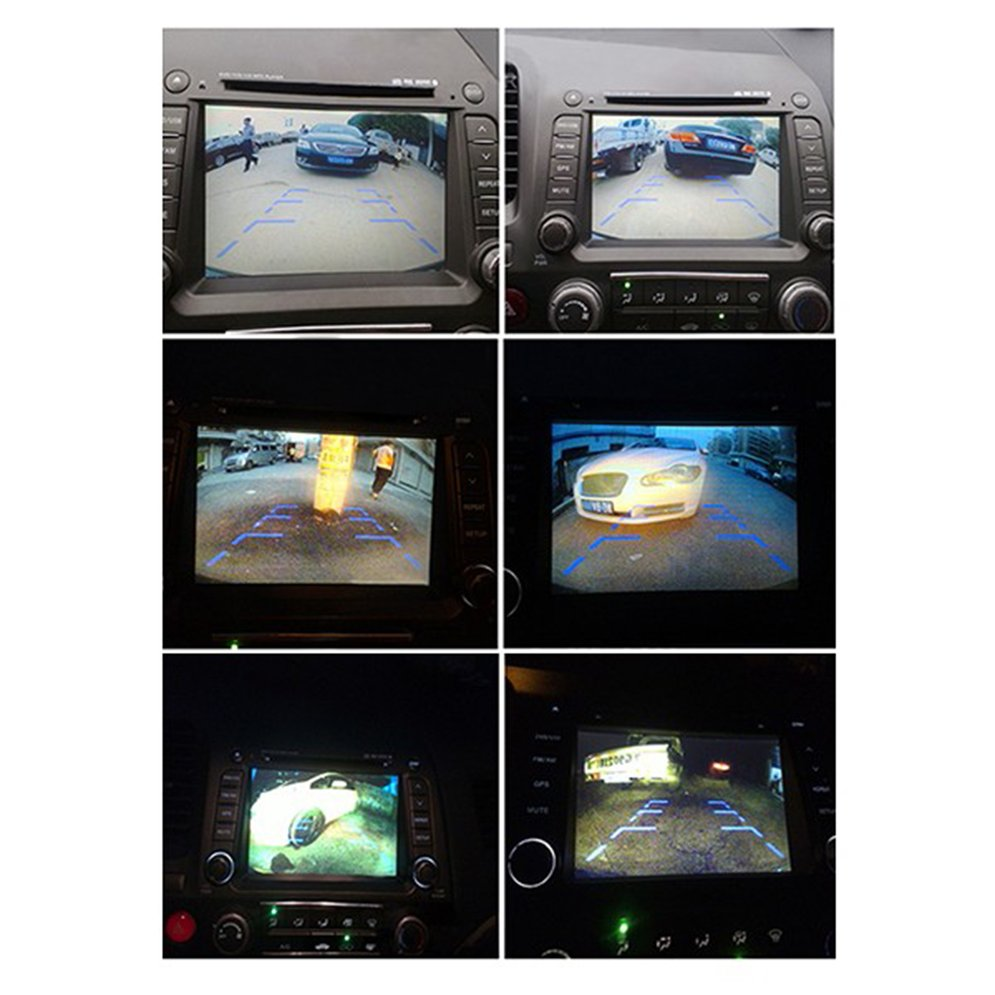 5-Inch 800*480 TFT LCD Digital Color Screen Car Monitor With Sucker and Stand Car Accessories For Backup Rear View Camera