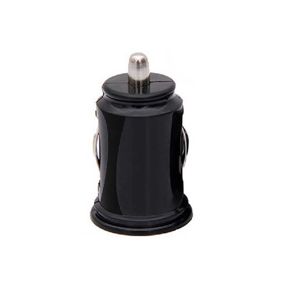 Black Dual Double USB Car Charger Cigarette  For iPhone Pad