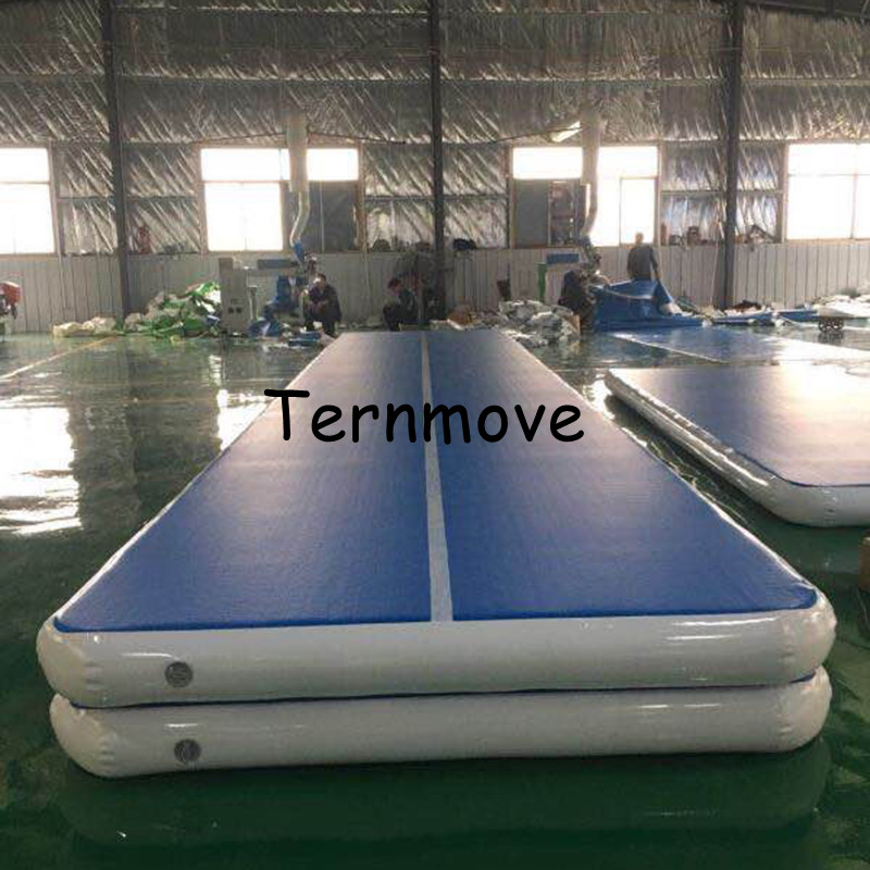 Gymnastique gonflable piste Air panneau Air bloc gonflable Gym Airtrack Tumbling Yoga Air Trampoline TrackTaekwondo Cheerleading