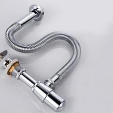 Раковина всплывающая сливная труба для раковины сливная труба P-Trap старый стиль твердая латунная стена сифон бутылка ловушка AG123