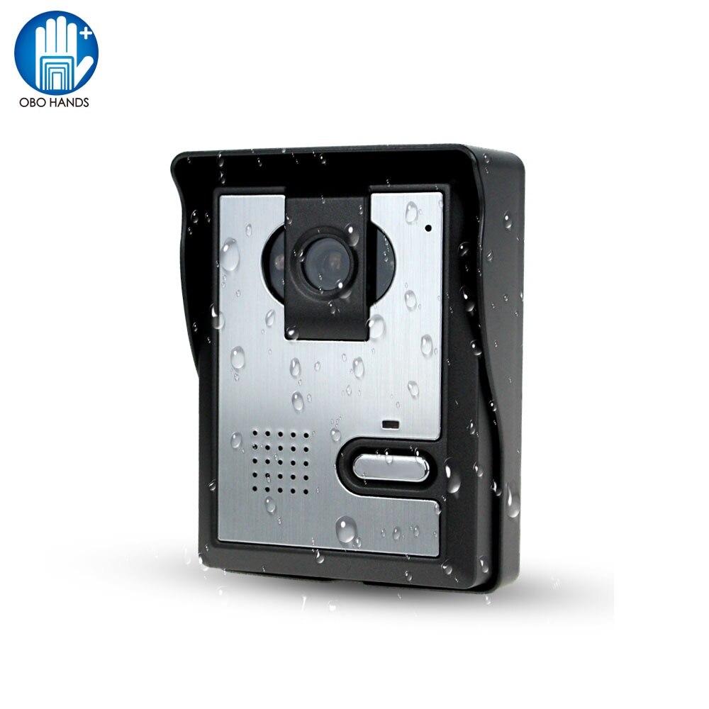 Free Shipping Video Door Phone System Outdoor CMOS Night Vision Camera Unit video intercom For Door Access Control