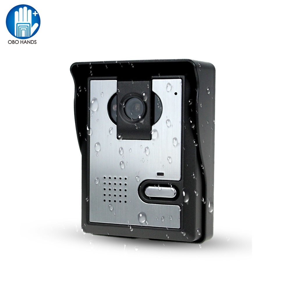 Free Shipping Video Door Phone System Outdoor CMOS Night Vision Camera Unit Video Intercom For Door Access Control