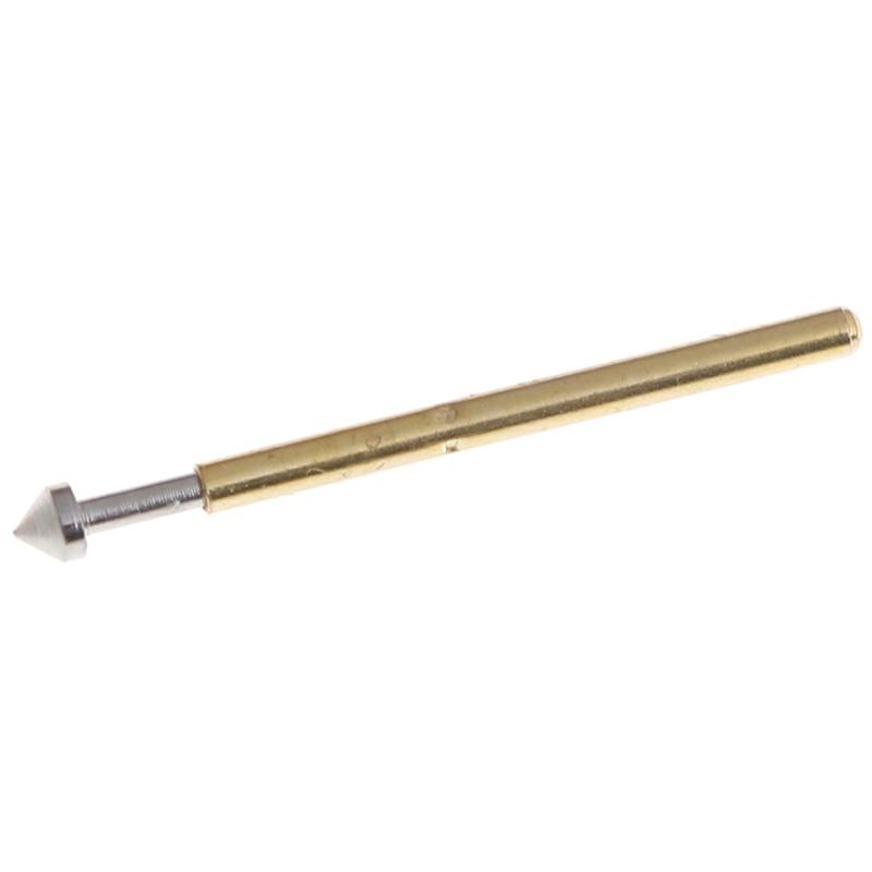100Pcs P75-E2//E3 spring test probe pogo pin1.3//1.5mm conical head1.0mm thimbleAB