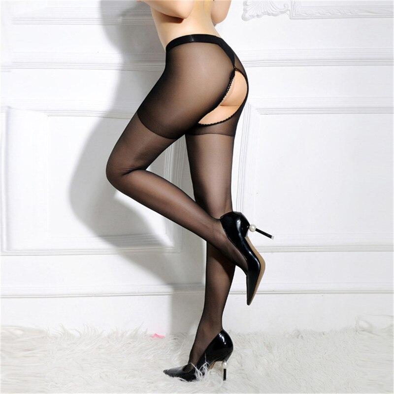 Women Sexy Pantyhose Stockings Nylon Hot Erotic Lingerie Pantyhose Open Crotch Sexy Tights Women Hosiery Stocking Plus Size Sock