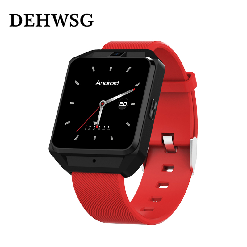 2018 Smart watch Heart Rate Monitor 4G Smartwatch 1.54 inch Android 6.0 MTK6737 phone support 5MP Camera Sim card For android стоимость