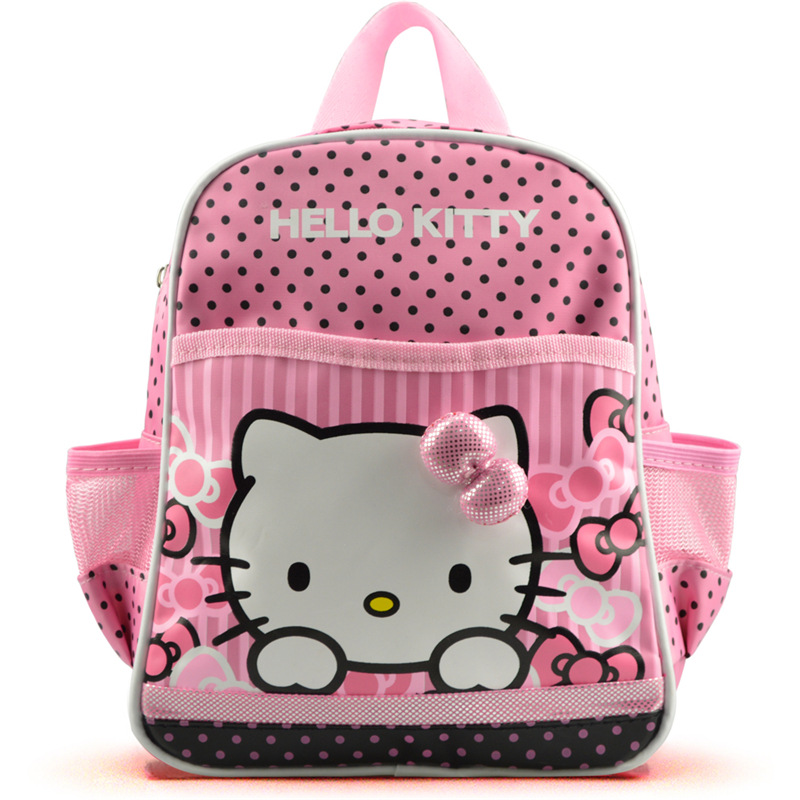Hello kitty cute backpack to school girls toddler schoolbags cartoon small bag kindergarten  child  kids small back pack рюкзак hello kitty backpack hello kitty pvc
